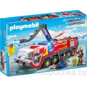 Конструктор Playmobil 5337 Аэропорт: Пожарная машина
