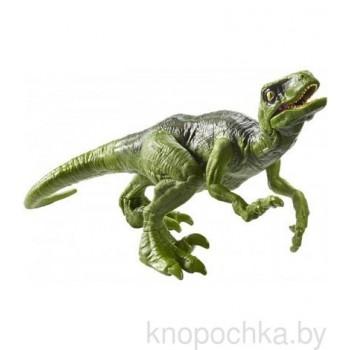 Фигурка динозавра Велоцираптор Jurassic World Mattel