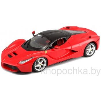 Коллекционная машинка Ferrari LaFerrari Bburago 1:24