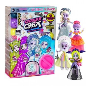 Эксклюзивный набор Capsule Chix из 4 кукол