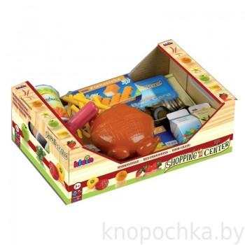 Набор продуктов и денег для игры в магазин