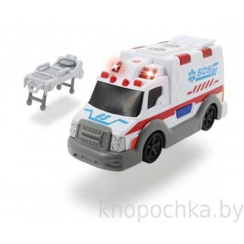 Машина скорой помощи Dickie, 15 см (свет, звук)
