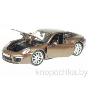 Коллекционная машинка Porsche 911 Carrera S Bburago 1:24