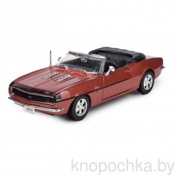Модель автомобиля Chevrolet Camaro SS 396 Convertible 1:24 Maisto 31257