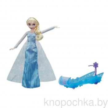 Кукла Эльза и сани Холодное сердце