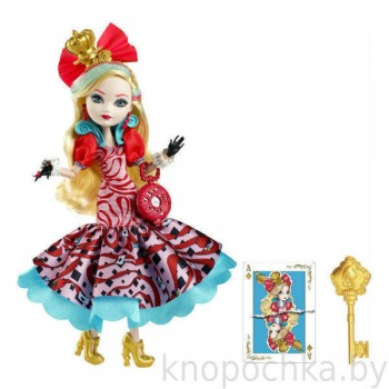 Кукла Ever After High Эппл Вайт серии Страна чудес
