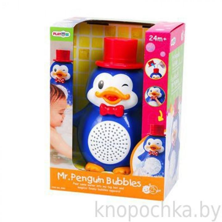 Игрушка для ванны Пингвин с пузырями PlayGo