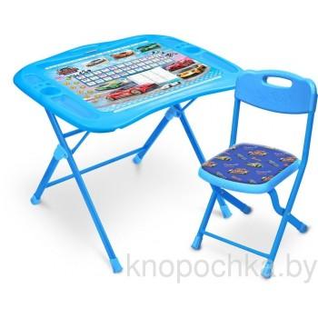 Детский столик и стульчик Ника NKP1/6 Большие гонки