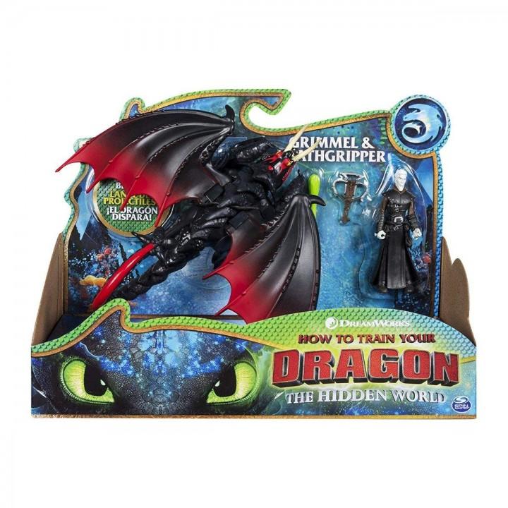 Дракон Мертвая хватка и Громмель Как приручить дракона