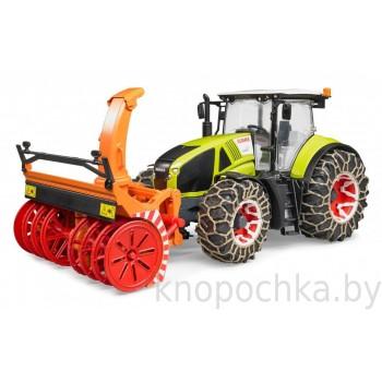 Игрушка Брудер Трактор Claas Axion 950 Bruder 03017