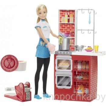 Набор Barbie Шеф итальянской кухни с куклой DMC36