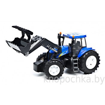 Игрушка Брудер Трактор New Holland T8040 с погрузчиком Bruder 03021