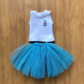 Одежда для Барби Топ и юбка