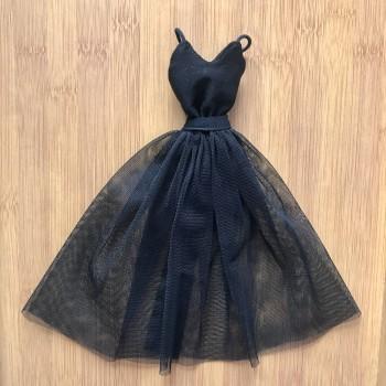 Одежда для Барби Вечернее платье черное 2 в 1