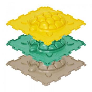 Модульный коврик для детей Ортодон Черепашка жесткая, 1 штука