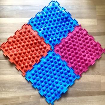 Ортопедический коврик для детей Ортодон Колючки мягкие, 1 штука