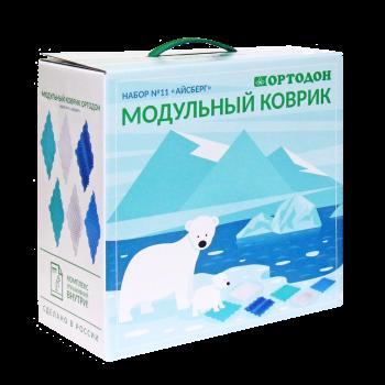 Модульный коврик Ортодон Набор №11 Айсберг (6 пазлов)