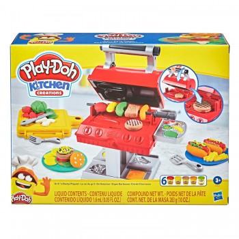 Набор пластилина Play Doh Гриль барбекю F0652