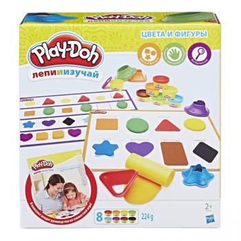 Набор Play Doh Цвета и фигуры B3404