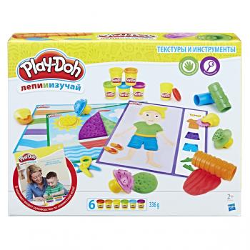 Набор Play Doh Текстуры и инструменты B3408