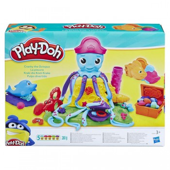 Набор Play Doh Веселый осьминог E0800