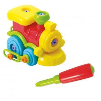 Развивающая игрушка Конструктор Паровоз Playgo 2008