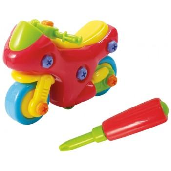 Развивающая игрушка Конструктор Мотоцикл Playgo 2009