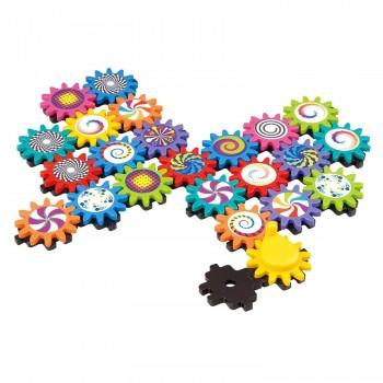 Развивающая игрушка Конструктор Шестеренки Playgo 2092