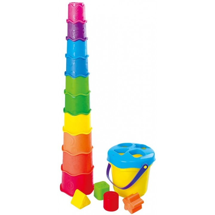 Развивающая Пирамидка с ведерком Playgo 2381