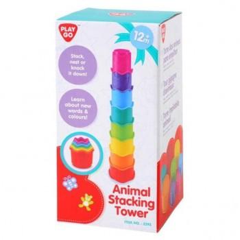 Развивающая игрушка Пирамидка PlayGo 2393