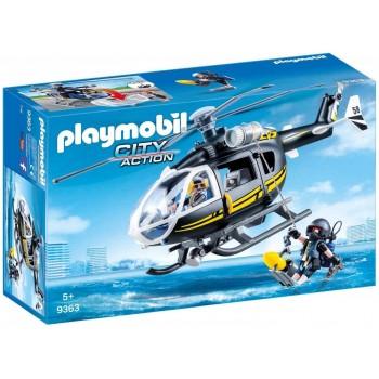 Конструктор Полицейский вертолет Playmobil 9363