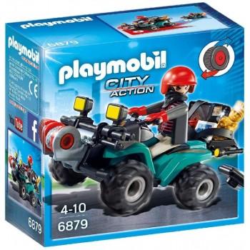 Конструктор Грабитель на квадроцикле Playmobil 6879