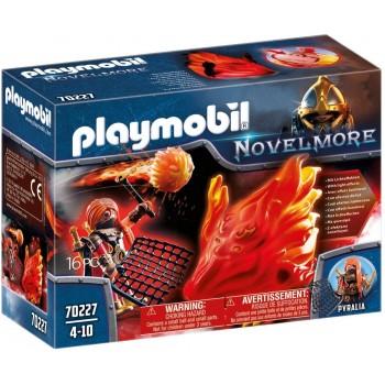 Конструктор Огненный Дух Рейдера Бернхэма и Хранитель Огня Playmobil 70227
