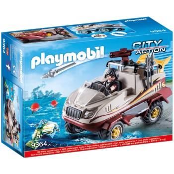 Конструктор Автомобиль амфибия Playmobil 9364