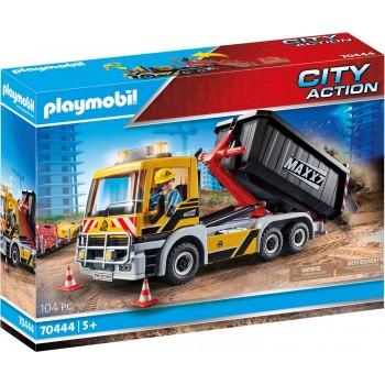 Конструктор Строительный грузовик Playmobil 70444