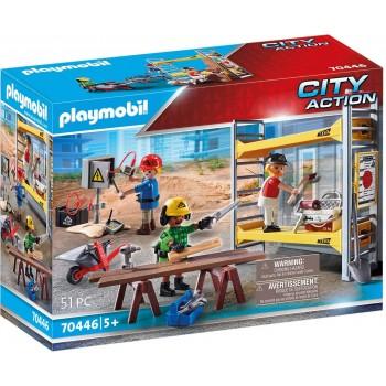 Конструктор Строители с лесами Playmobil 70446