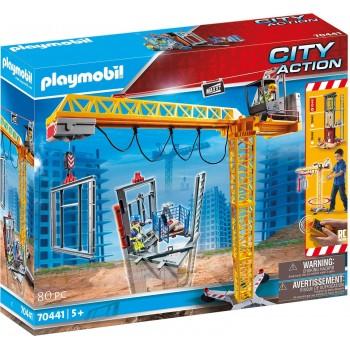 Конструктор Радиоуправляемый кран Playmobil 70441