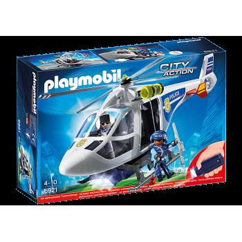 Конструктор Полицейский вертолет Playmobil 6921