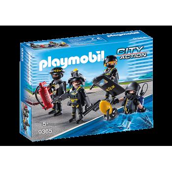 Конструктор Элитный отряд полиции Playmobil 9365