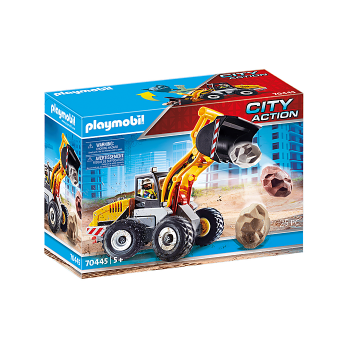 Конструктор Колесный погрузчик Playmobil 70445