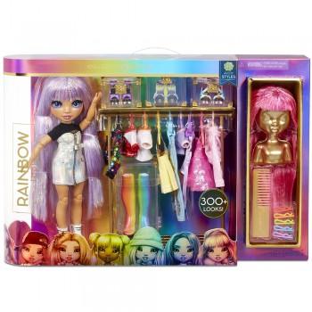 Модная студия Rainbow High с куклой Эйвери Стайлз