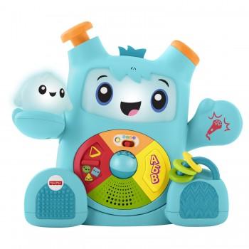 "Обучающая игрушка Роккит и Спарки ""Смейся и учись"" Fisher Price FXD10 (свет, звук)"