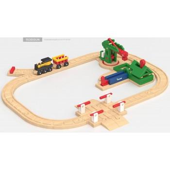 Детская железная дорога Robisun Пилорама (32 элемента)