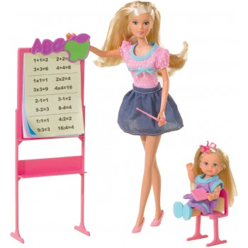 Кукла Штеффи и Эви Школа Simba