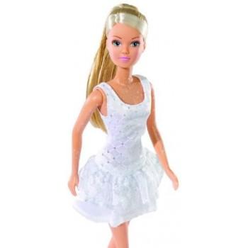 Кукла Штеффи в белом летнем платье Simba (3 вида)