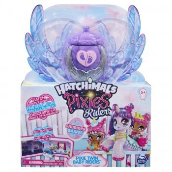 Набор Hatchimals Блестящие малыши Пикси наездницы (в ассортименте)