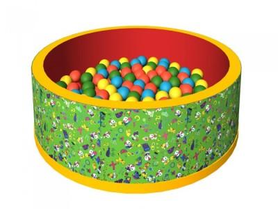 Сколько нужно шариков для сухого бассейна: математический расчет и пример