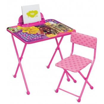 Детский столик и стульчик Ника Д2Р Рапунцель