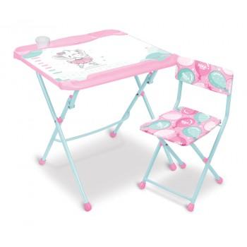 Детский столик и стульчик Ника КНД5/3 Балерина
