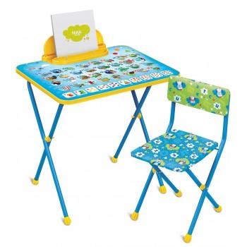 Детский столик и стульчик Ника КП2/9 Азбука